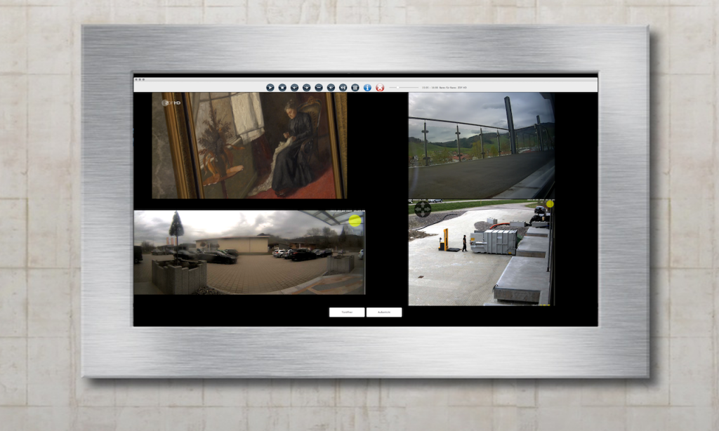 Xhome Touch Panel Video und TV Manager