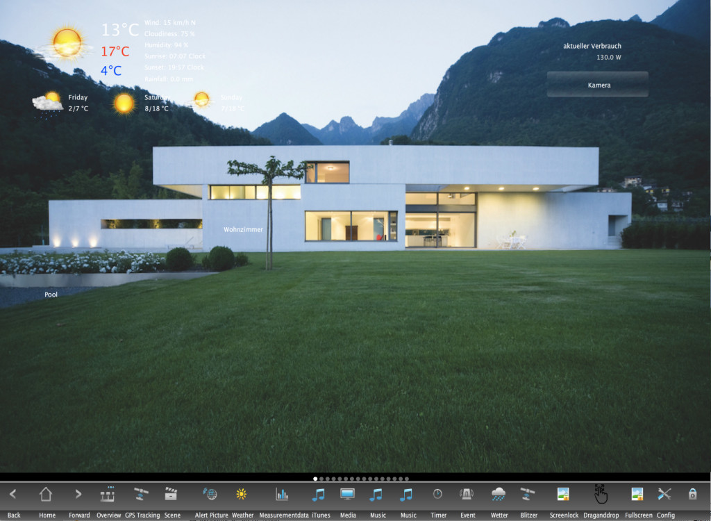 KNX LCN Visualisierung - Smart Home