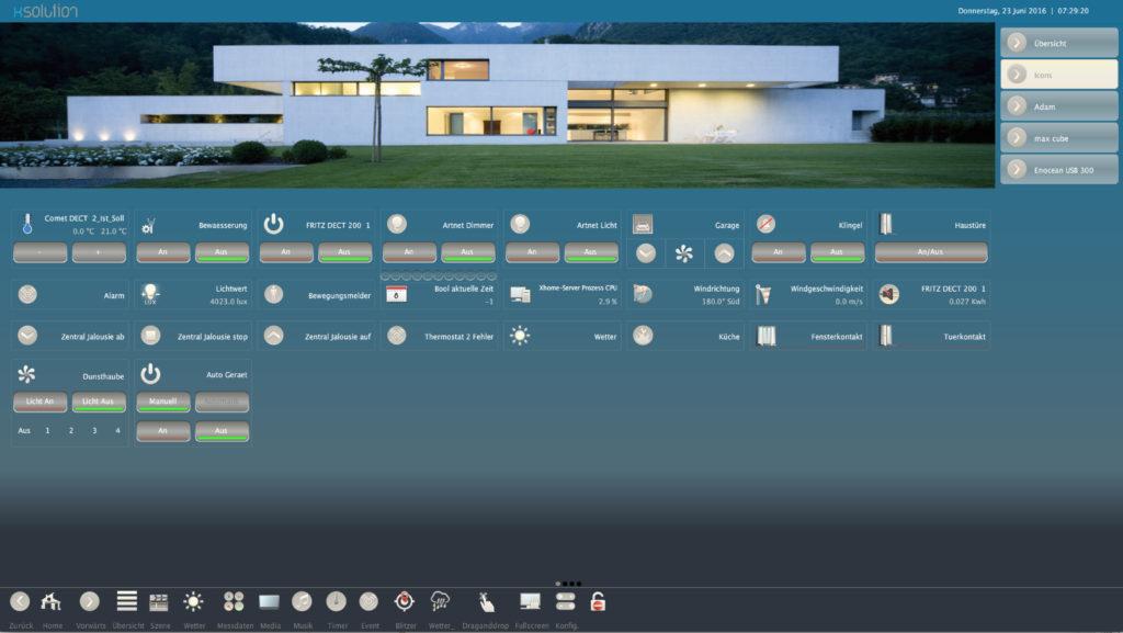 Icons SmartHome IoT KNX LCN Modbus Visualisierung 3
