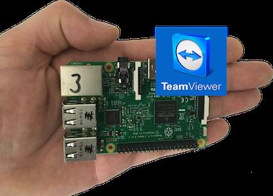 Raspberry 3  – Teamviewer