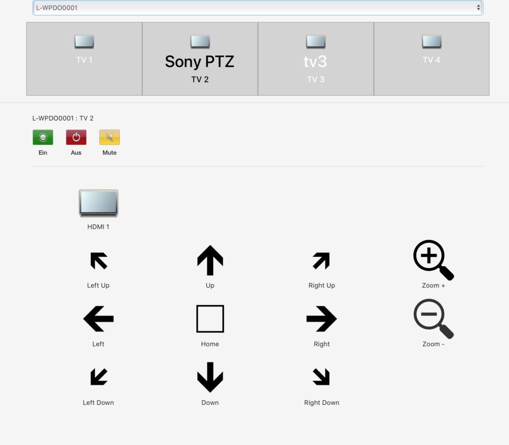 Sony Visca Ip Udp PTZ Control Software