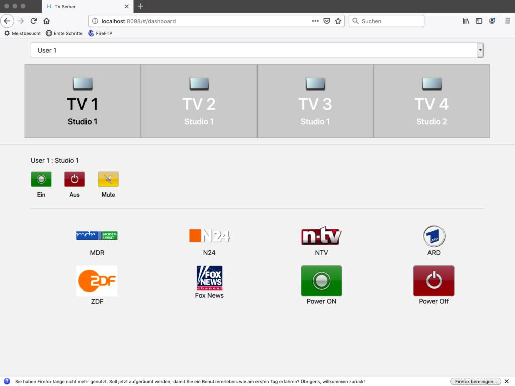 Samsung Remote TV Control Center
